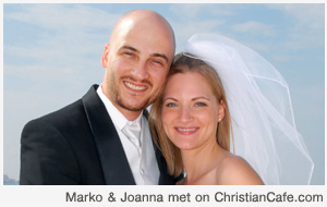 Marko and Joanna met on ChristianCafe.com