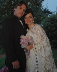 Alex and Angelica were wary of online dating but are now married!
