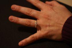 Alyssa's engagement ring