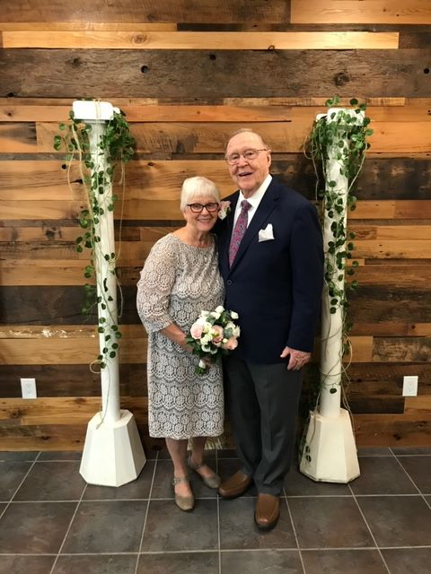 Senior Christian couple with joy