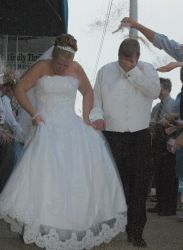 Couple dating on April Fools receive blessing as they marry