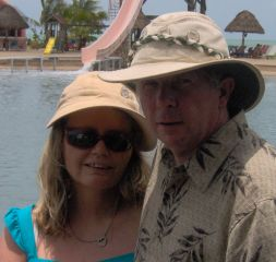 Vacation for senior Christian couple