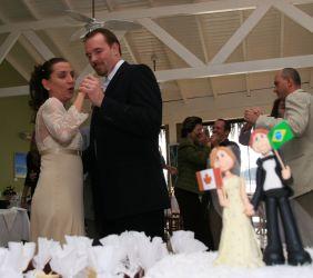 Canadian Christian single marries his Brazilian love