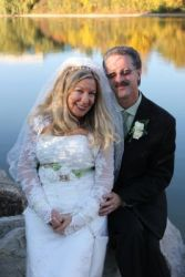 Carolyn and Anthony lived just 10 minutes apart and were married in October
