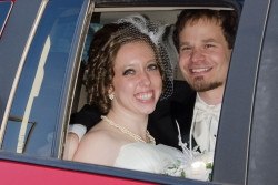 Carrie was happily married in December 2012, one year after joining ChristianCafe.com
