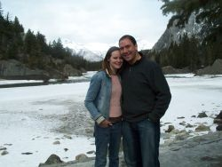 Saskatchewan single Christians pose in beautiful Banff