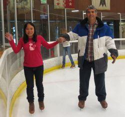 A wonderful moment on skates
