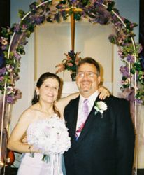 Daniel and Carole marry