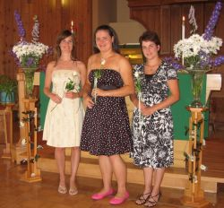 Patricia's wedding party