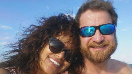 Berhane and David loving the beach together!