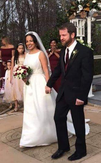 Wonderful wedding shot!