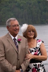 Debra and Cal received a second chance at love, and were married in June 2013