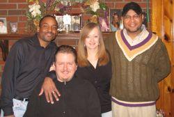 Christmas get together for blended family