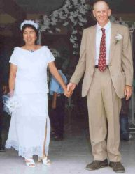 Christian couple marry in Belize