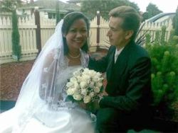 Australian man overcome with love only has eyes for her as she smiles while seated