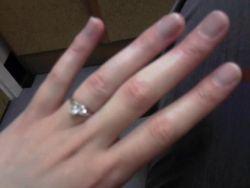 Beautiful engagement ring