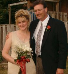 Ontario Christian woman finds the one as they stand side by side on their wedding day