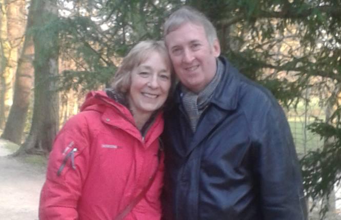 Welsh Christian single Ian met Scottish Christian single Rosie