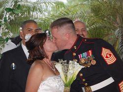 SC single Christian kisses Florida soulmate at the altar