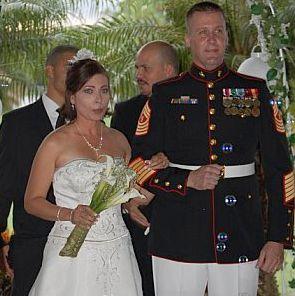 English and Spanish wedding for American couple