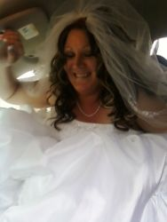 Birthday wedding for a new bride