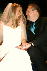 Jewell and Aaron full of love on their wedding day