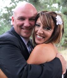 Chauna and Jon happily married