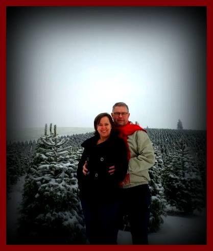 Beautiful romantic shot at Christmas!