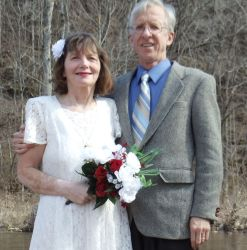 Ken and Sarah married April 5, 2010. Don't they look happy together!
