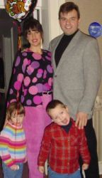 Widowed Christian find love and are shown with their blended family