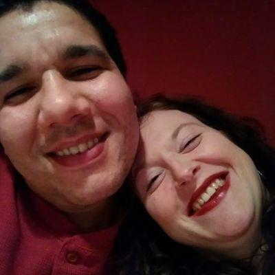 Kimberly and Felipe smiling