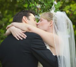 Sealed with a wedding kiss