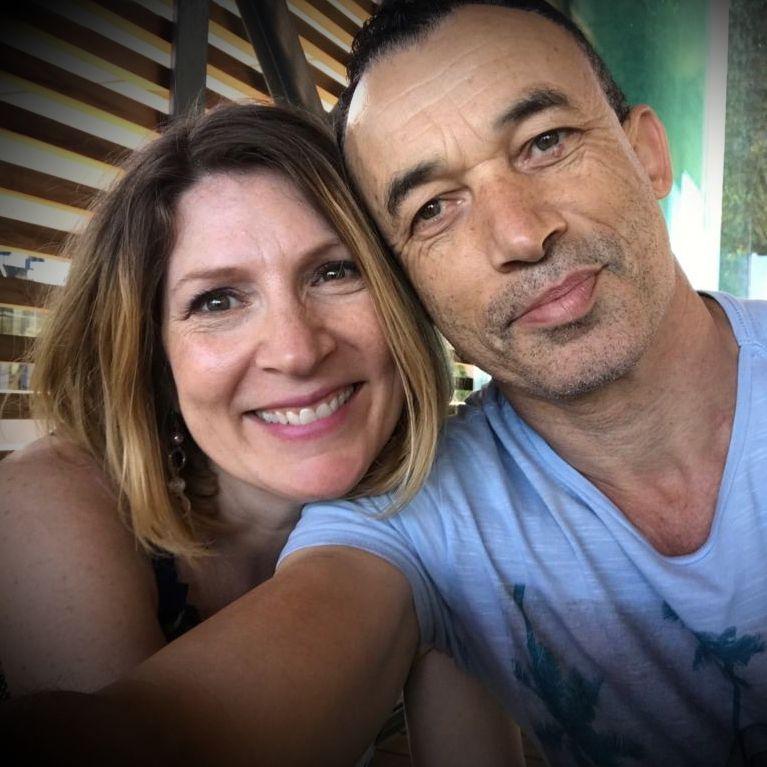 Selfie for Christian couple