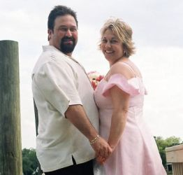 Florida Christian singles so happy to be together, hold hands and smile