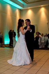 First dance for new married couple from Ontario