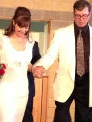 Lawrence married in June