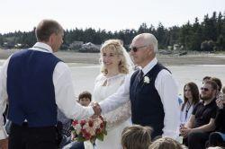 BC Beach wedding for a Christian couple