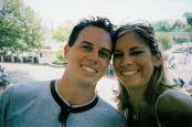 Smiling single Christians at Disneyland