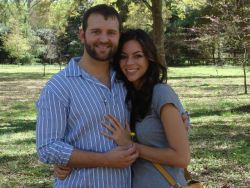Lindsey and Greg were engaged in April