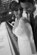 Maria and Josh on their wedding day