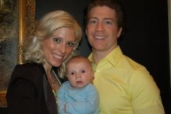 Mary-Frances, Steve and Sebastian