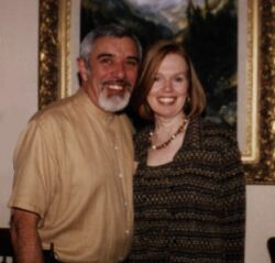 Michigan Christian single man smiles next to a pretty Colorado Christian woman