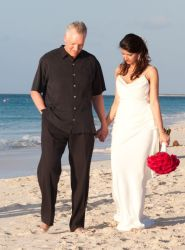 Cass and Melissa married in Turks and Caicos