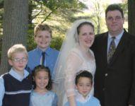 Blended Christian family