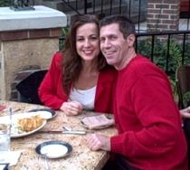 Engagement confirmed for Indiana Christian couple at outdoor cafe