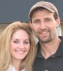 Ontario Christian single in a baseball cap poses with a stunning woman from BC