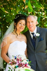 Richard and Nilda on their wedding day, in June 2013