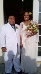 Patrina and Kervin married in August 2013 in Trinidad