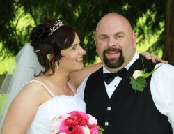 BC Christian man marries an Irish woman who gazes at him and smiles