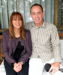 Philip and Urshla connected because of ChristianCafe.com
